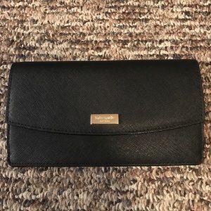 Kate Spade NWT black wallet